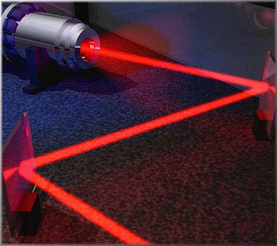 ليزر، سلاحهای لیزری، کاربردهای لیزر، تقنگ ليزري